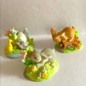 RUSS Australia NSW 2019 3 handmade Easter bunny's